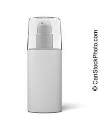 Blank cosmetics container