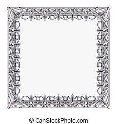 Blank Diploma Frame Template
