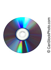 Blank Disc (with clipping path) - Blank Disc Isolated (with...