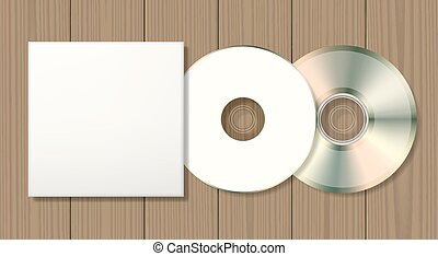 Blank disk and case
