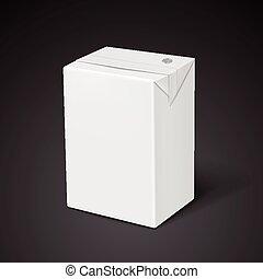 blank drink box template