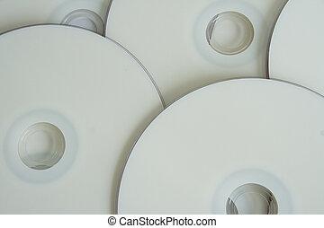 Blank DVD background