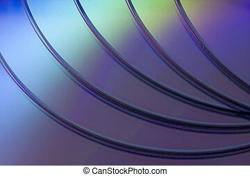 blank DVD disk background