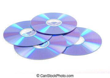 Blank dvd\\\'s.