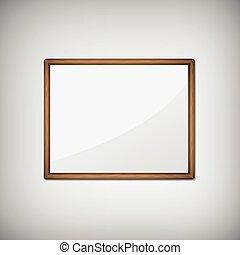 blank empty frame