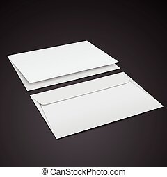 blank envelopes template