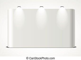 Blank Exhibtion Wall