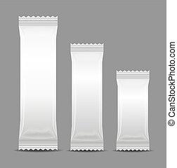 Blank Foil Food Snack Sachet Bag Packaging