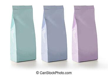 Blank Foil Food Snack Sachet Bags Packaging