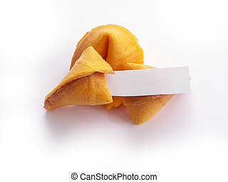 Blank Fortune Cookie - Fortune cookie ... provide your own...