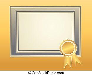 Blank Frame template