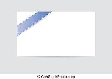blank greeting card