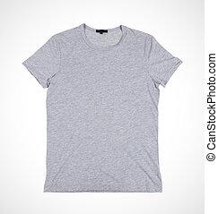 tshirt - blank grey tshirt front side