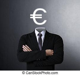 Blank human head symbol