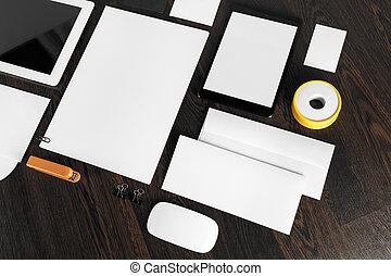 Blank ID template.