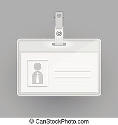 blank identification card template