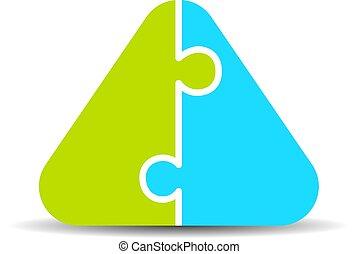 Blank infographics pyramidal diagram