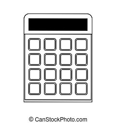 blank keys calculator icon image