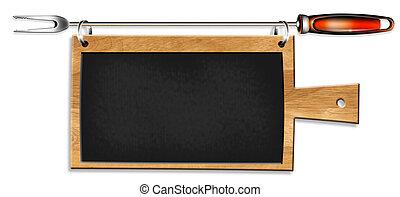 Blank Kitchen Chalkboard