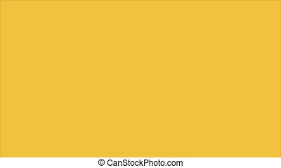 Blank label on yellow background, Animation Design, HD 1080