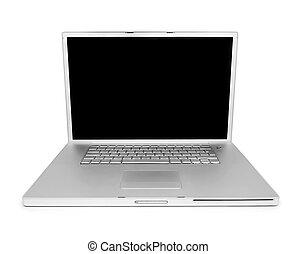Blank laptop