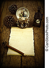 Blank letter to the Three Wise Men - Letter blank parchment ...