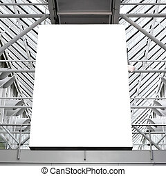 Blank light box - Mock up of blank light box