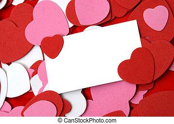 Blank Love Note