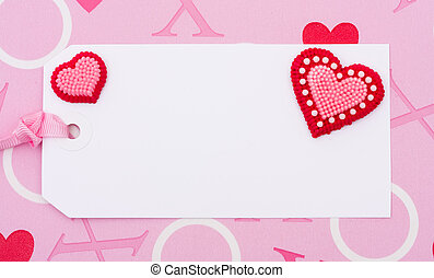 Blank Love Tag
