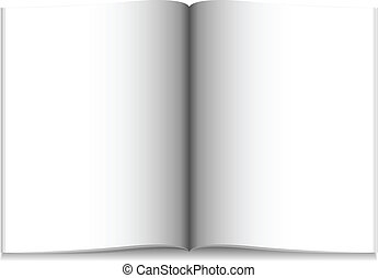 Blank Magazine - Illustration of a blank magazine. Available...