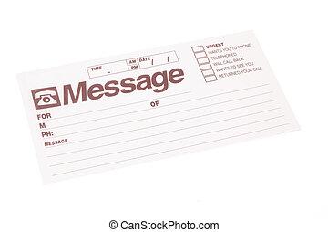 Blank Message