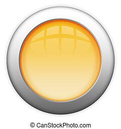 Blank metal button