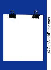 blank office sheet