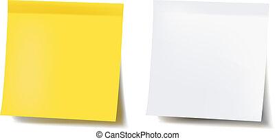 Blank Note Set