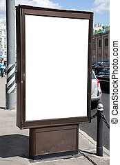 blank of billboard - urban concept, great for your design ...