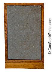 Blank of blackboard isolated on white background