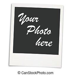 blank old photo