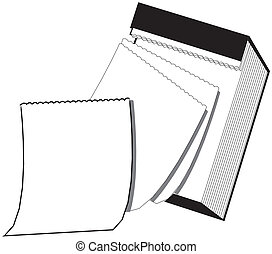 Blank Page - Hanging Wall Calendar