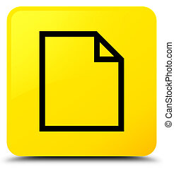 Blank page icon yellow square button