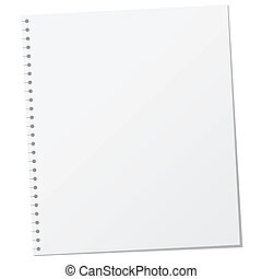 Blank Page Illustration