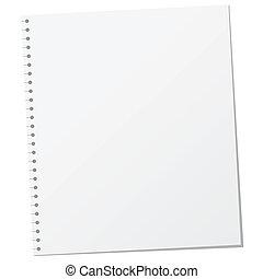 Blank Page Illustration
