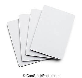 Blank Palying Cards.