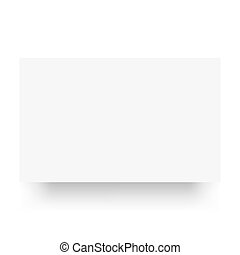 Blank paper banner on the white background.