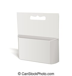 blank paper package