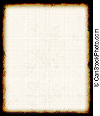 blank parchment - blank faux parchment with stains - made in...