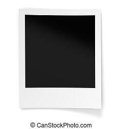 Blank Photo Frame - Blank photo frame isolated on white...