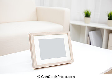 blank photo frame with copy space