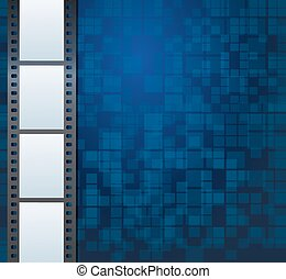 Blank photo or video template