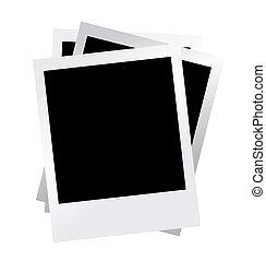 blank photo vector illustration