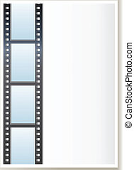 Blank photo, video template